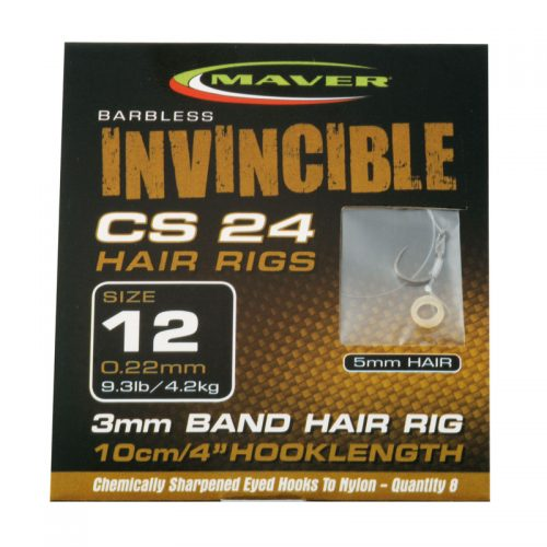 Invincible CS24 hair rig hooks