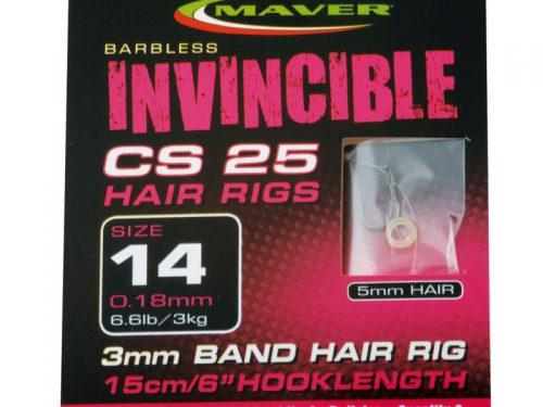 Invincible CS25 hair rig hooks