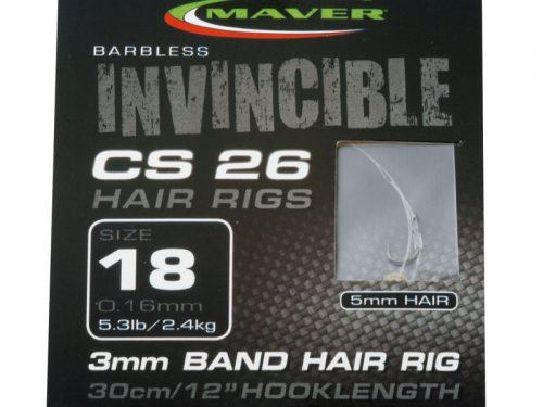 Invincible CS26 hair rig hooks