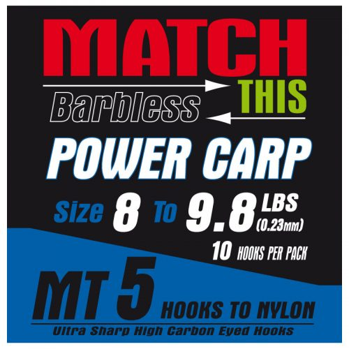MT5 power carp hair rigs