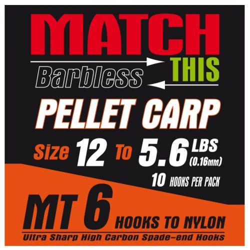 MT6 pellet carp hair rigs