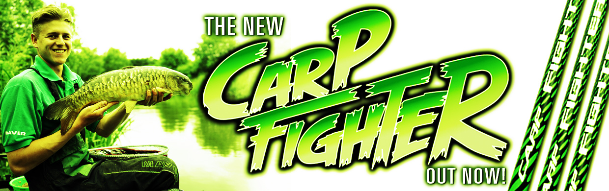 Carp Fighter poles - in stock now