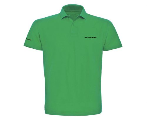 Classic polo shirt (green)