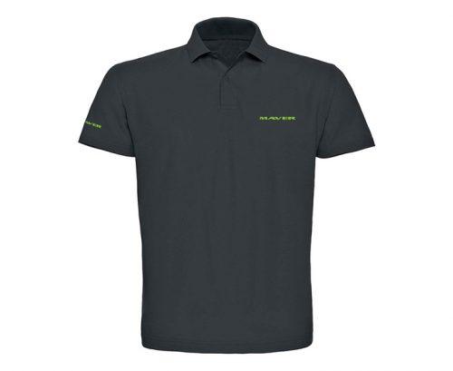 Classic polo shirt (graphite)
