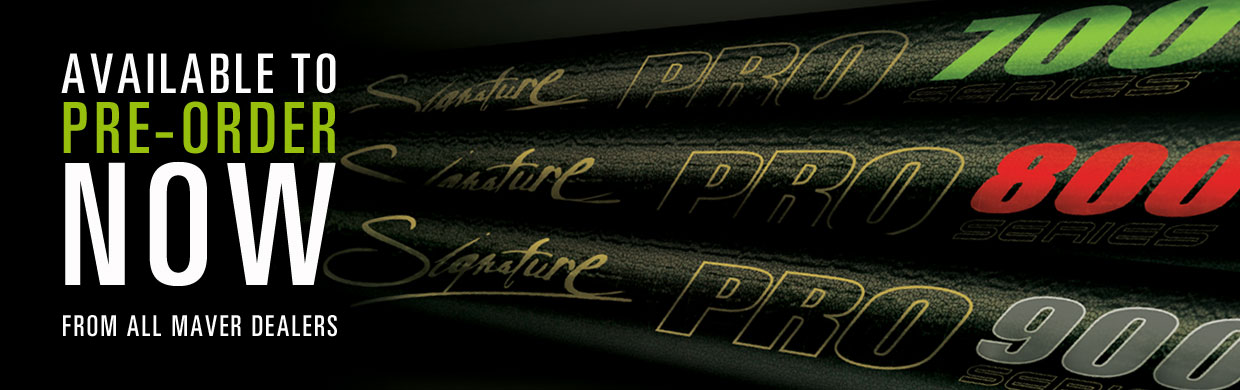 Signature Pro poles - available to pre order
