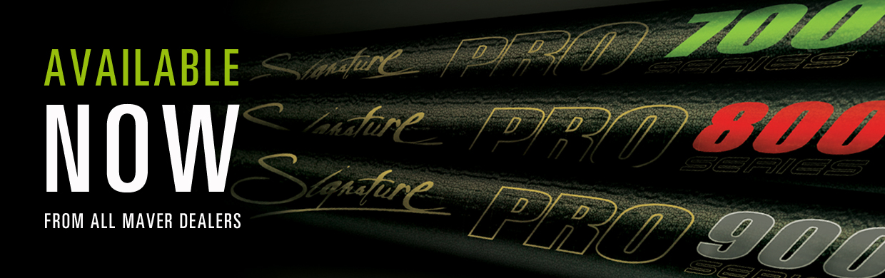 New Signature Pro poles - available now