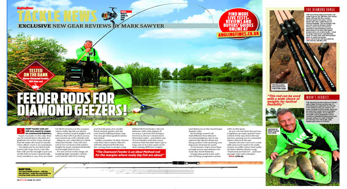 Signature 900 pole review, Angling Times, May 2017