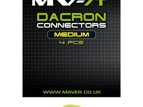 MVR dacron connectors