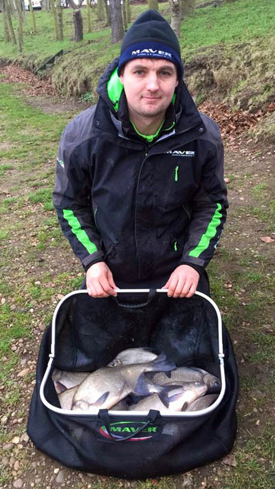 Graeme Wall with a lovely bag of quality skimmers