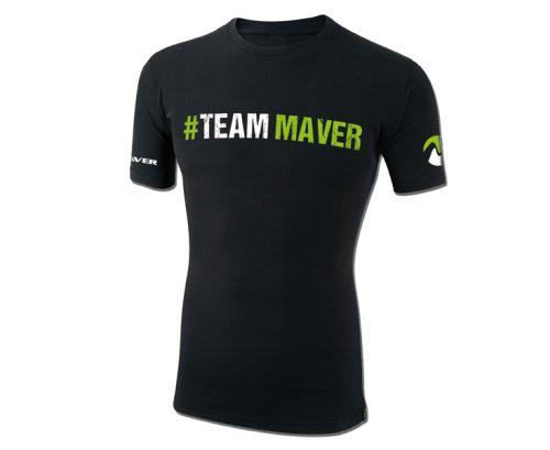 #TeamMaver t-shirt (black)
