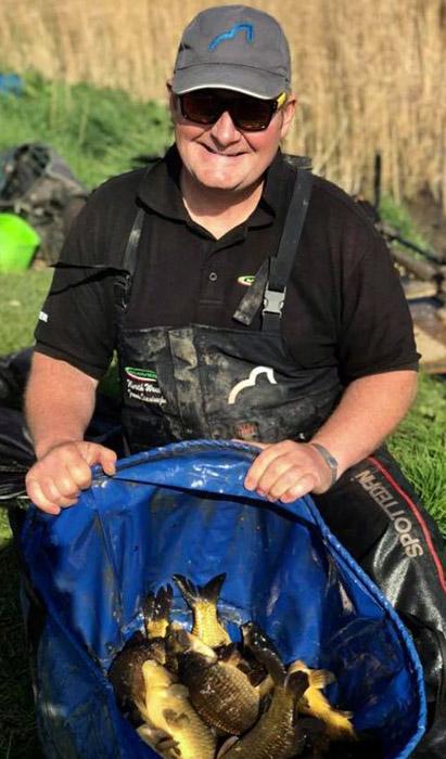 Franek qualifies for this year's Fish O Mania Final at Maver Hayfield Lakes