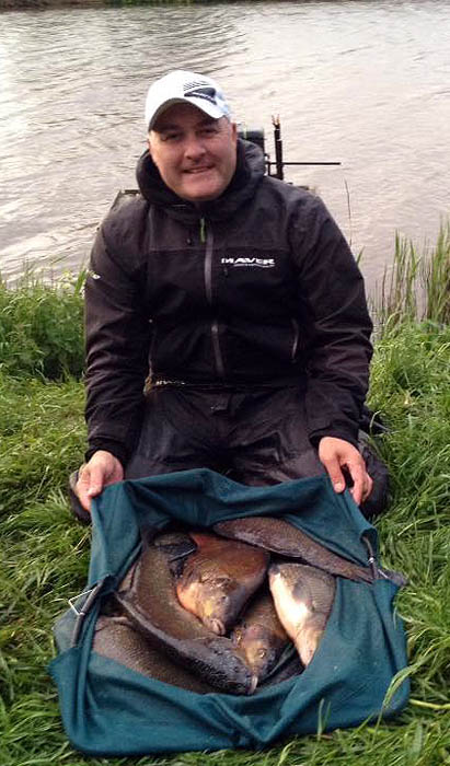Lee with another superb big bream haul taken on day three of the competition
