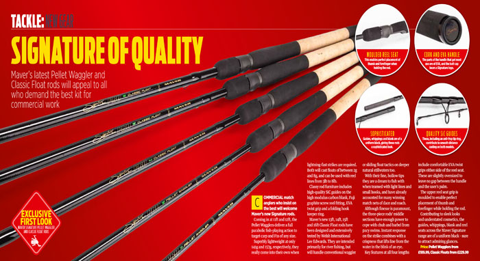 Signature Pro classic float rods review, IYCF, July 2018