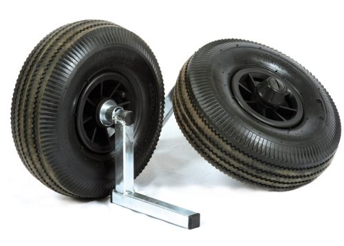 Seat box wheel kit