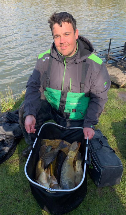 2018 Match This Champion Dave Burley with his winning catch