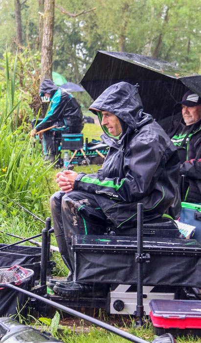 Andy Kinder is the competition's top angler
